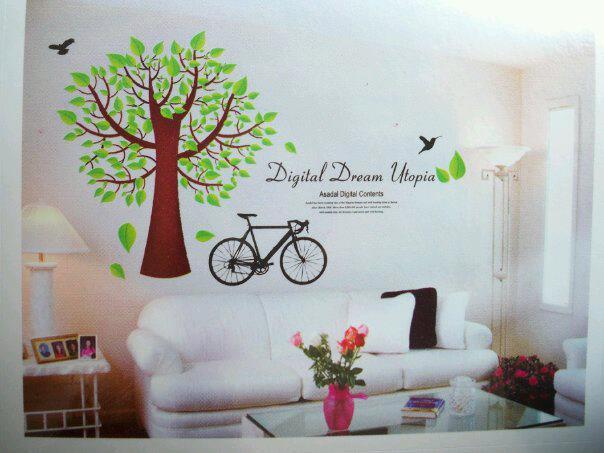 gusti shop: wall sticker keren murah meriah