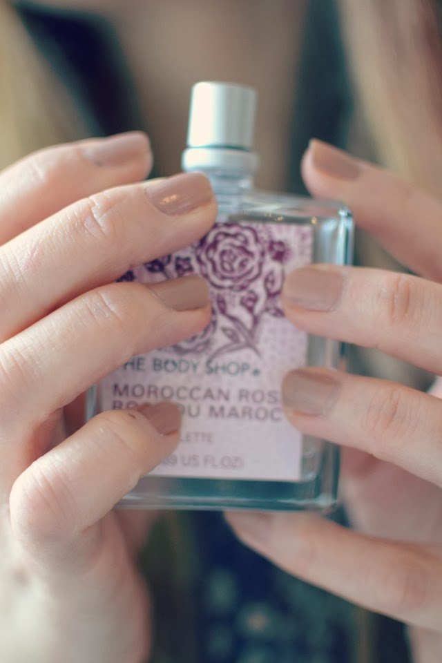 Body Shop Morroccan Rose Perfume