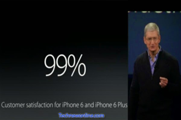 Percentage Of Users Satisfied With The IPhone 6 Reaches 99%