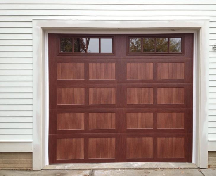 Our adventures in nottafarm forest exterior tri fecta for Tall garage doors
