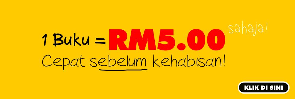 Promosi 1 Buku RM5.00