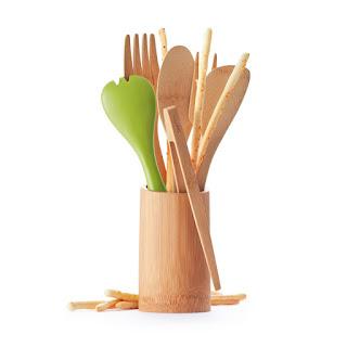 Recipiente de Bambú