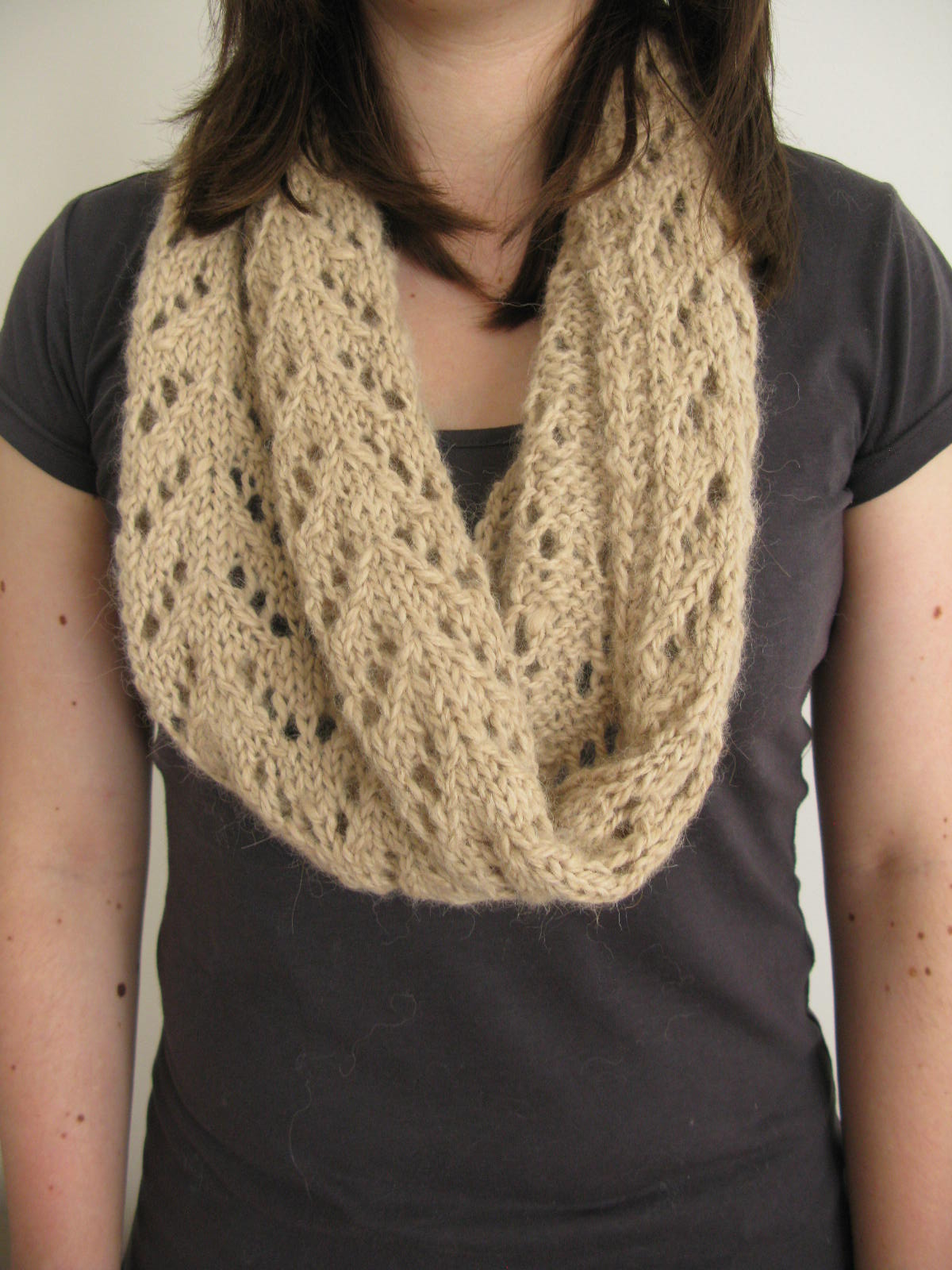 Littletheorem pattern gallery lace scarf cowl knitting pattern handspun yarn bankloansurffo Choice Image