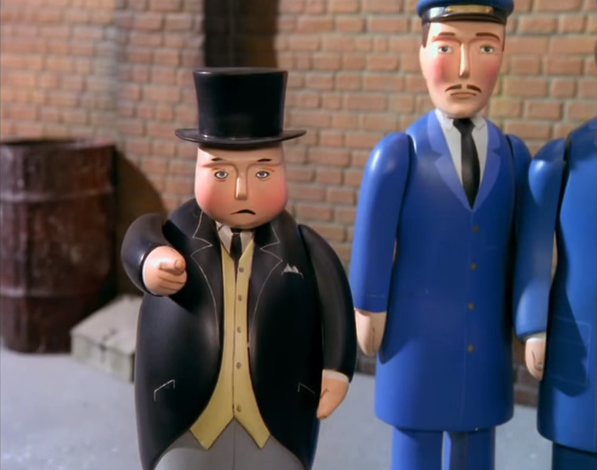 Image result for fat controller pissed off