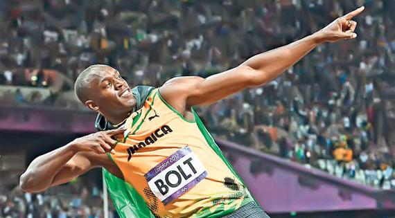 Usain Bolt este sportivul despre care s-au publicat cele mai multe tweets la aceasta editie a Olimpiadei