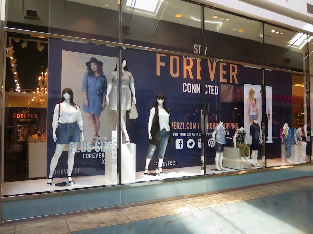 forever 21, ontario mills, shopping adventures, plus size fashion, cid style file, fashion