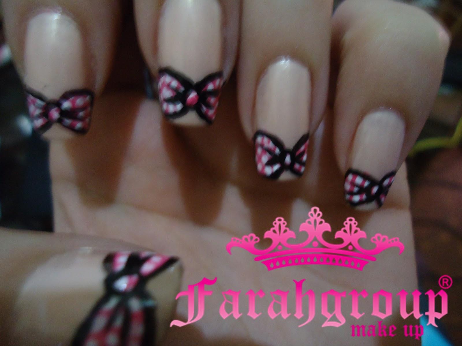 Farahgroup Makeup: Nail Art \