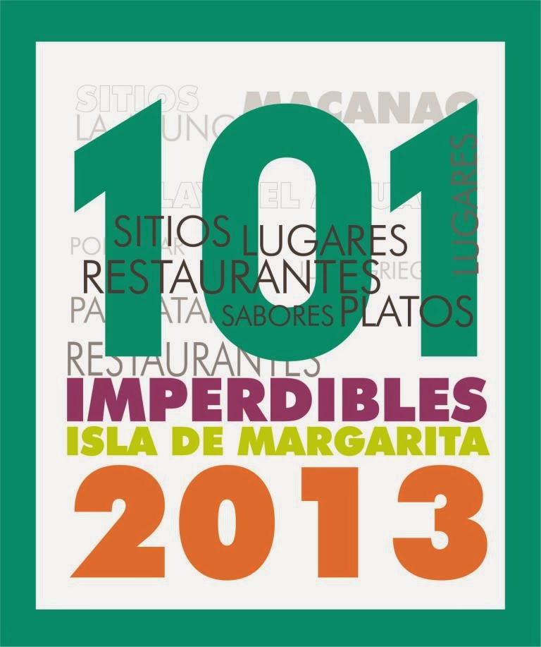 101 IMPERDIBLES DE MARGARITA 2013