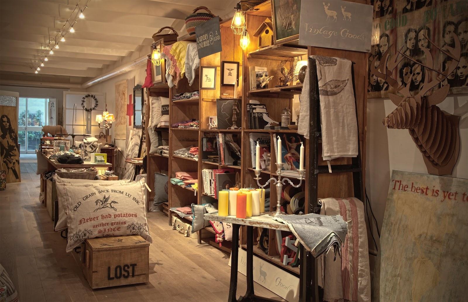 Tiendas con encanto lu ink tienda taller con personalidad - Muebles con encanto online ...