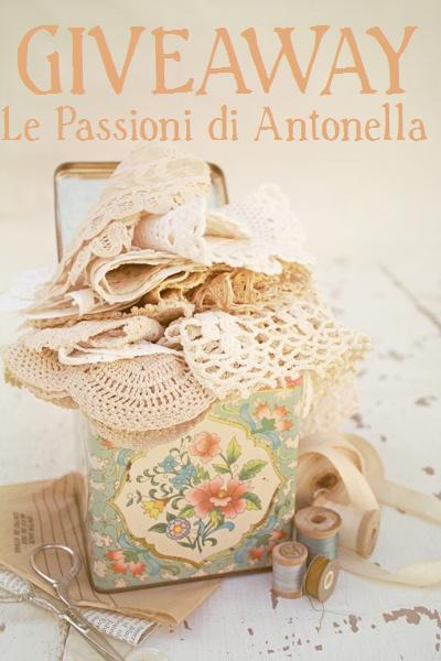 il giveaway di LE PASSIONI DI ANTONELLA