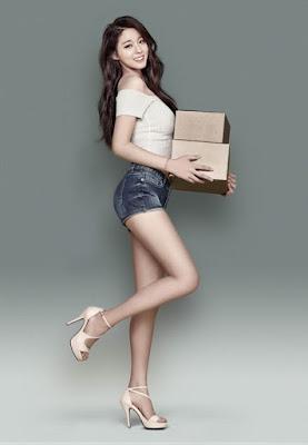 Seolhyun AOA Gmarket