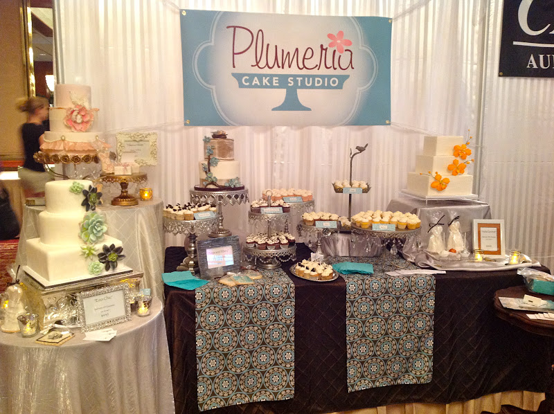 Wedding Expo Stands : Plumeria cake studio our bridal expo booth