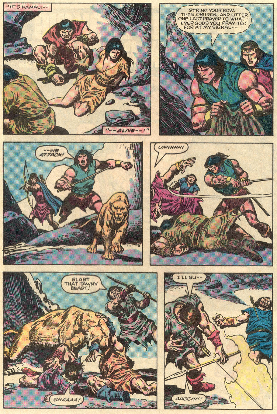 Conan the Barbarian (1970) Issue #151 #163 - English 15