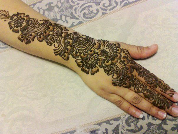 Mehndi Beautiful Design Images : Beautiful mehndi designs for pakistani girls blondelacquer