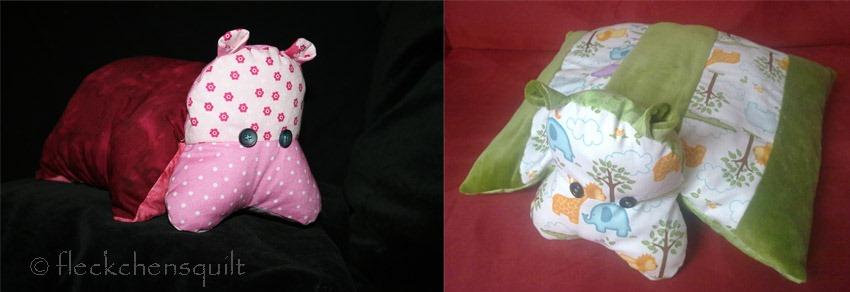 Noch mehr nilpferdkissen even more hippo pillows