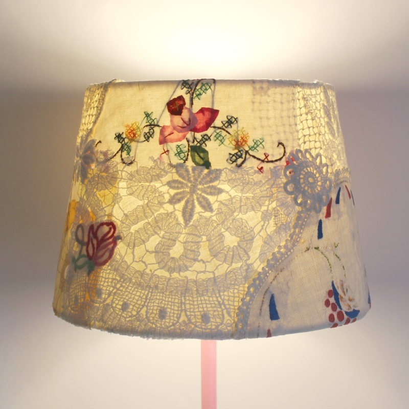 Roxy creations vintage style lampshade Style me up fashion tape creations