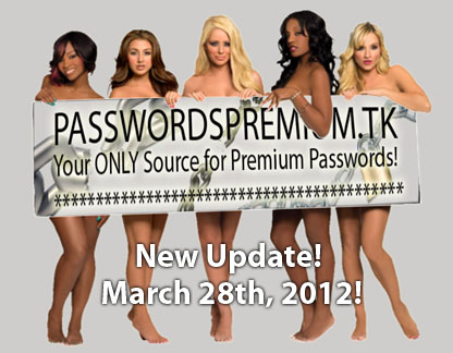 Passes Premium - Premium Porn Passwords Updated Daily!