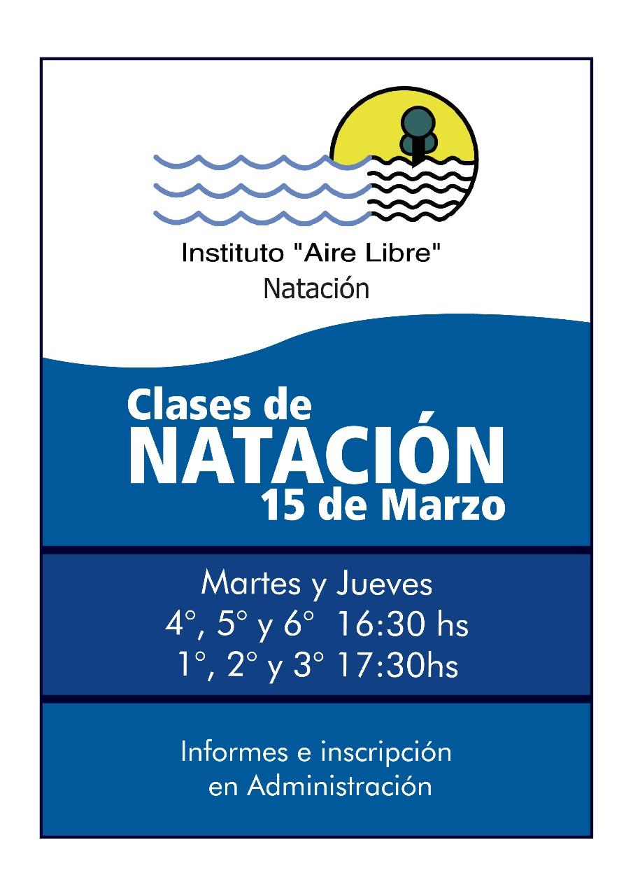 EQUIPO DE NATACIÓN