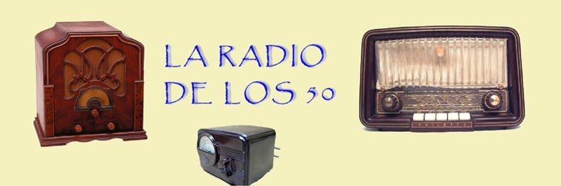 La radio de los años 50