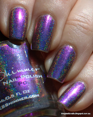 KBShimmer Rolling with the Chromies
