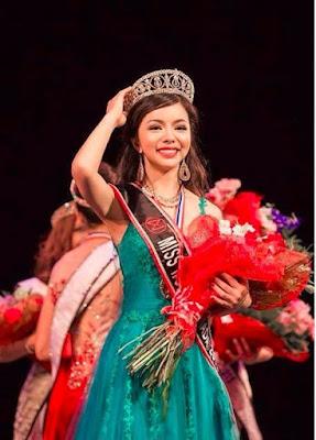 华裔女孩林耶凡(Anastasia Lin)当选2015年加拿大世界小姐,
