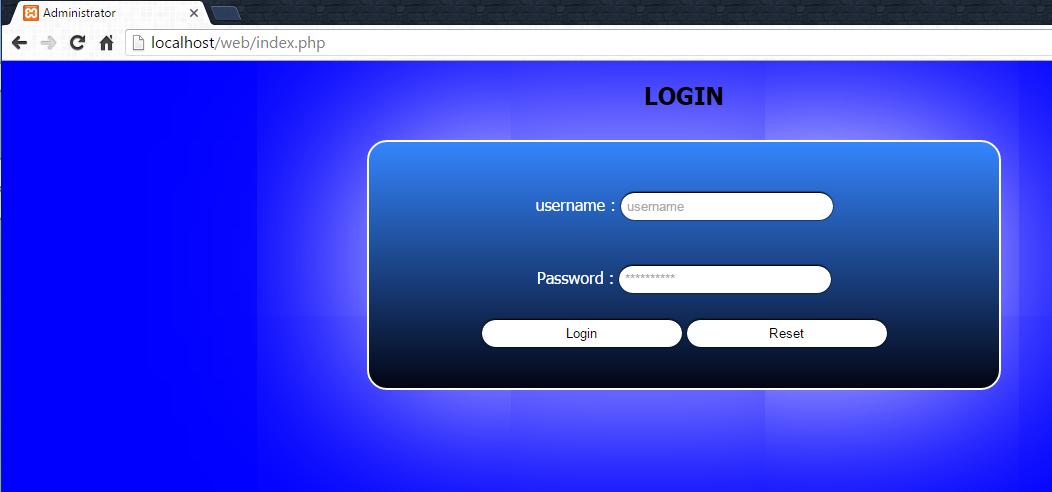 Membuat Form Login php Dengan Validasi ~ Eyang Kecil