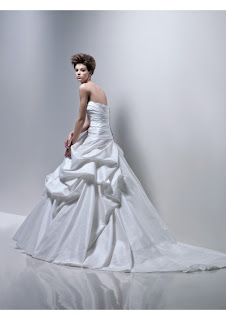 Wedding Dress Satin Strapless Straight, photos wedding
