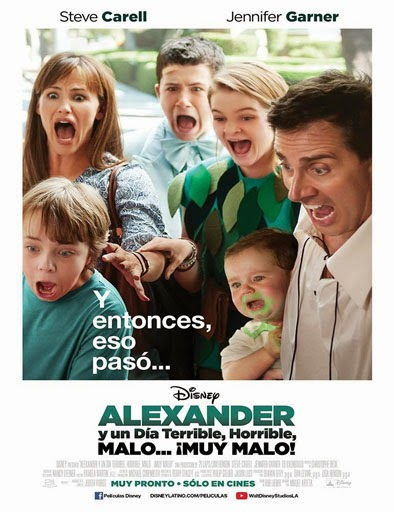 Ver Alexander y el día terrible, horrible, malo… ¡muy malo! (2014) Online