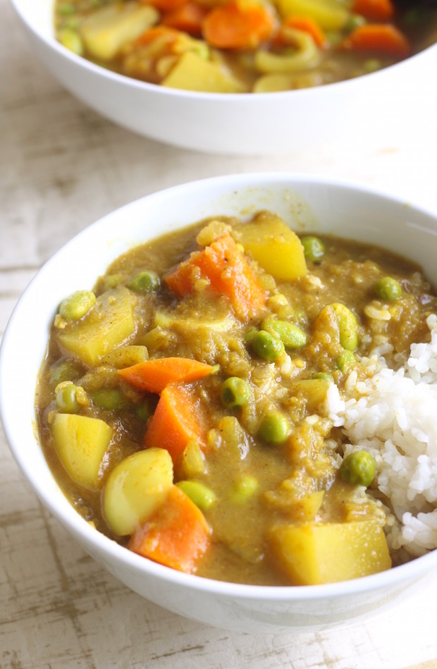 Japanese Vegetable Curry recipe by SeasonWithSpice.com