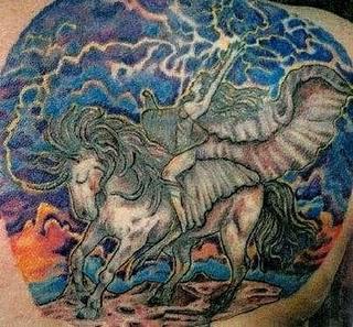 Fantasy Tattoo Design