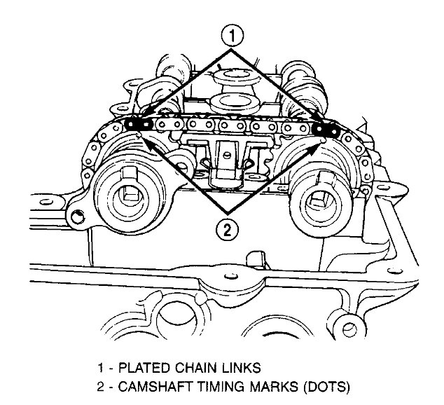 Chrysler 2 4 Sebring Engine Diagram additionally 235h6 2001 2 4l Dohc Nissan Alginment Timing Chain Camshaft additionally Chevrolet 4 3l V6 Engine Diagram together with 77ewh Subaru Legacy Finished Changeing Water Pump Lined also 4i73d Star Give Detailed Instructions Puting Timing Chains 4 6l. on 5 4 dohc timing marks diagram