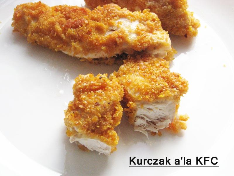 W domowej kuchni: Kurczak a'la KFC