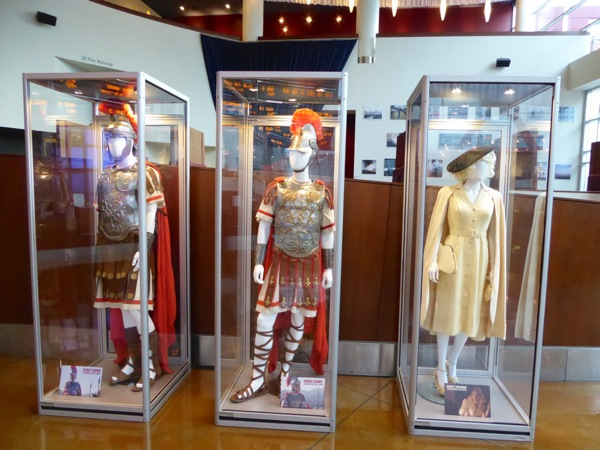 Hail Caesar movie costume exhibit