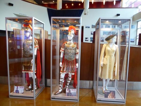 Hail Caesar movie costume exhibit