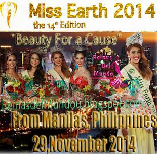Disfruta Nuestra Cobertura de Miss Earth 2014, Haciendo Click en la Imagen