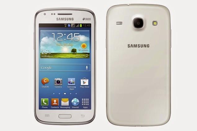 Harga dan Spesifikasi Samsung Galaxy Core I8262 Terbaru