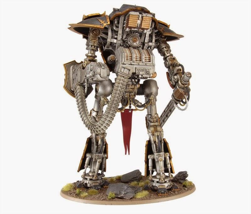 Cerastus Knight-Castigator trasera
