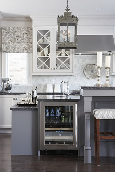 Alamode gorgeous grey kitchens inspiration for my remodel for Grey and white kitchen cabinets