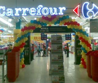 dekorasi balon CARREFOUR