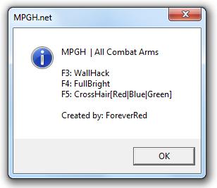 Xyy5r6b Combat Arms Hile Wallhack CrossHair indir