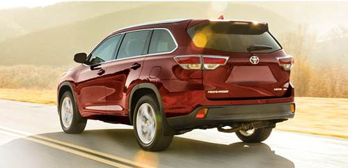 2017 Toyota Highlander Price