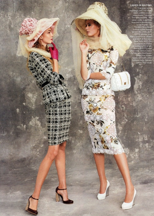 Various Models - Vogue US, April 2011