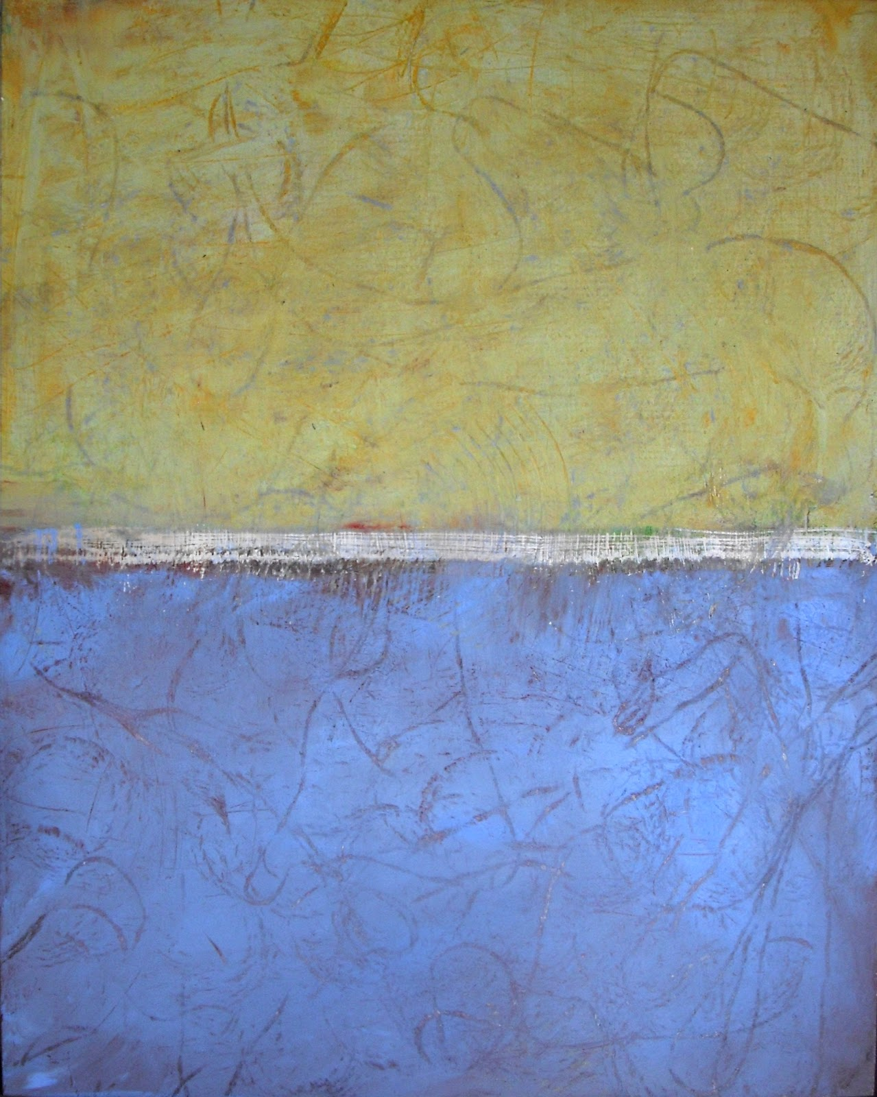 Serena barton 39 s blog cold wax painting for Wax landscape