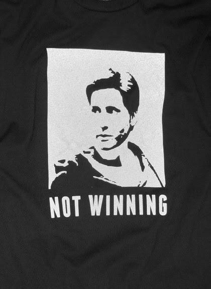 not winning