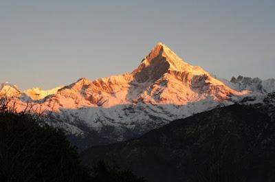 Machapuchare Mountain