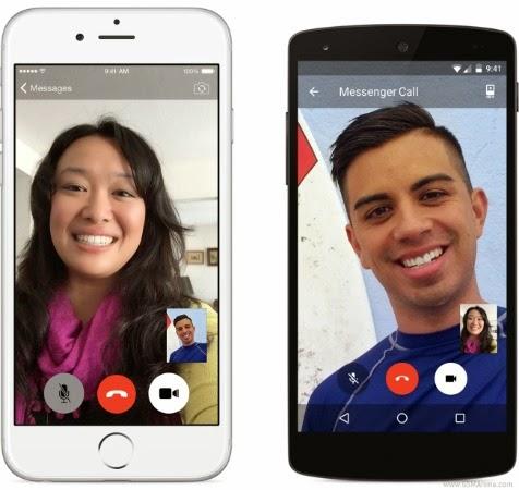 Update Facebook Messeger untuk Android dan iOS hadirkan fitur video call