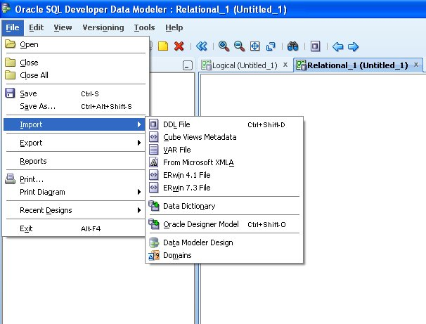 Thecodemechanic generate er diagram from existing oracle db using thecodemechanic generate er diagram from existing oracle db using data modeler ccuart Image collections