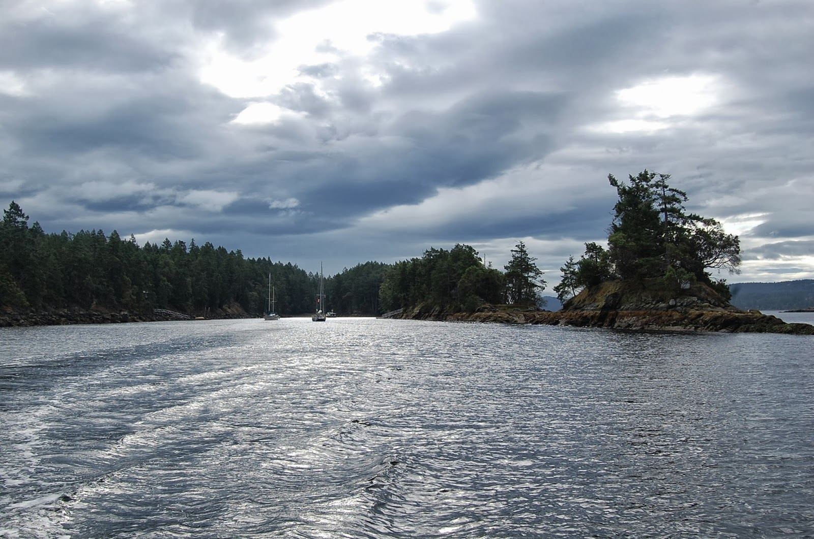 how to get to wallace island