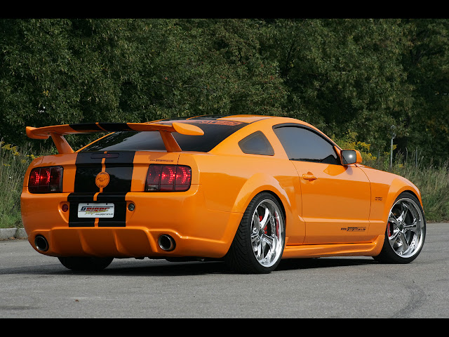 2007 geiger cars ford mustang gt 520 rear and side performance