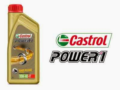 review oli Castrol Power 1 di Motor CBR150R